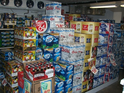 Acorn Beverage liquor store cold beer